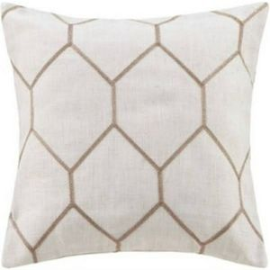 Madison Park 2pk Metallic Geo Throw Pillows
